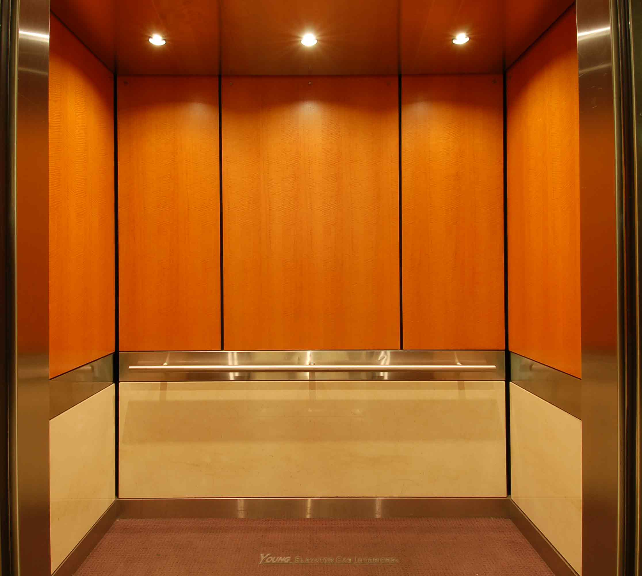 Professional Elevator Interior Renovations.